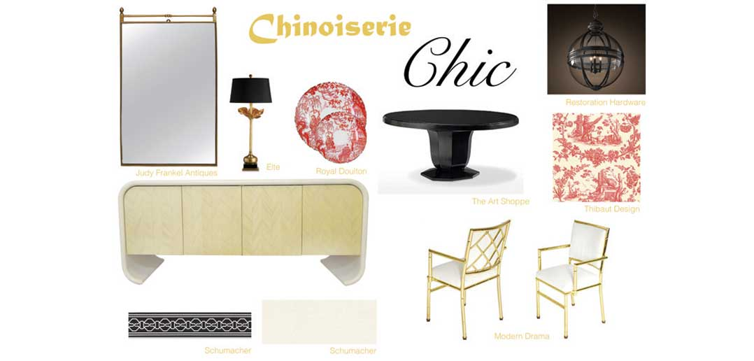 Chinoiserie Chic: Decorating the Dining Room