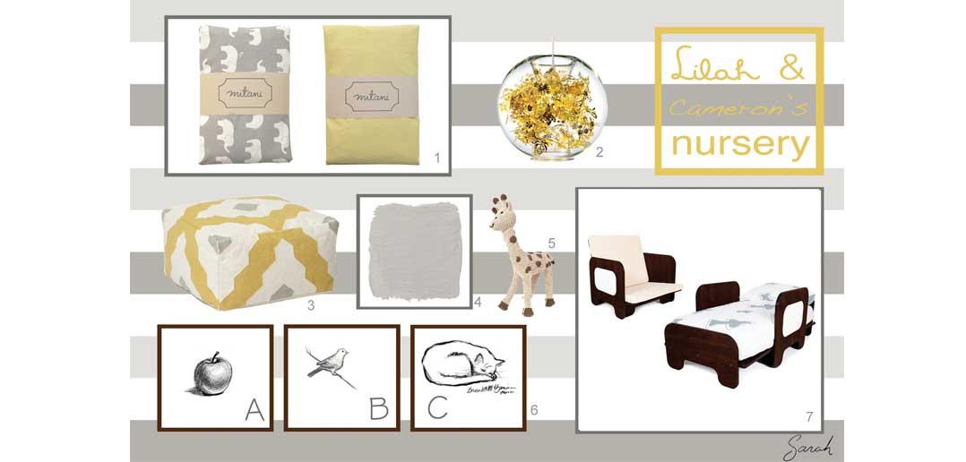 Toddler Nursery Design Ideas