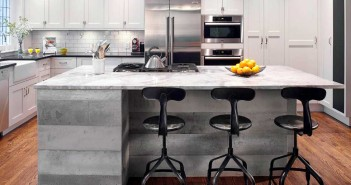3.Bright Brownstone Kitchen Chemistry 1