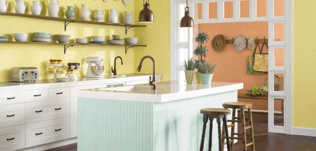 Charming Paint For Kitchen Best Colors To Paint A Kitchen