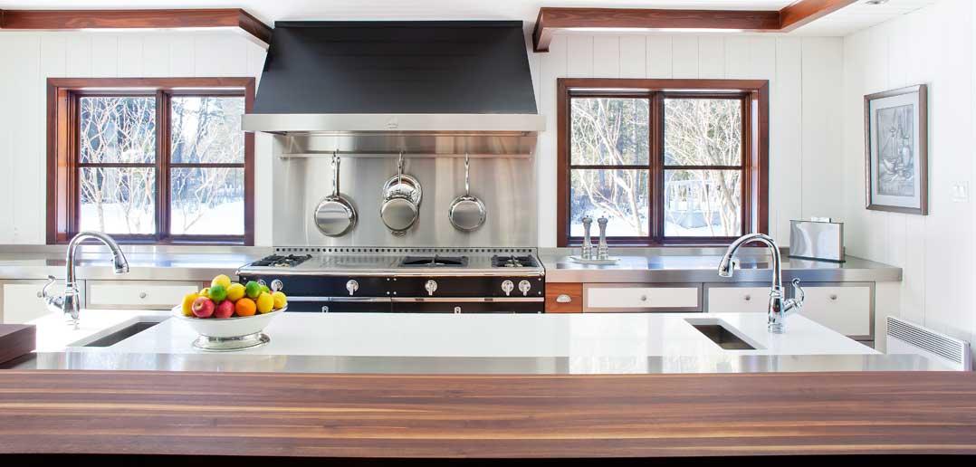 Spectacular Custom Chalet Kitchen