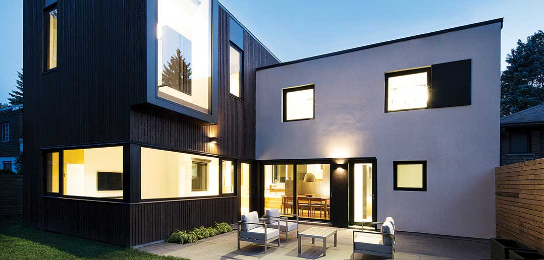 Cubing the Square: Multiple Levels of a Family Home