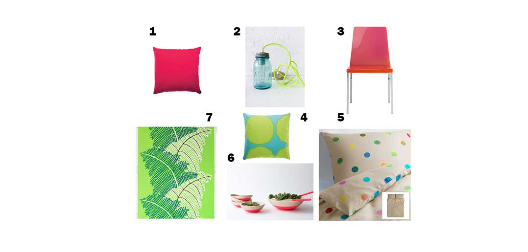 2014 Trend: Style your Space with Neon