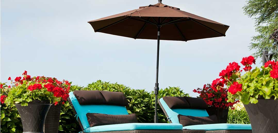 A to Z Outdoor Design Guide: Umbrellas
