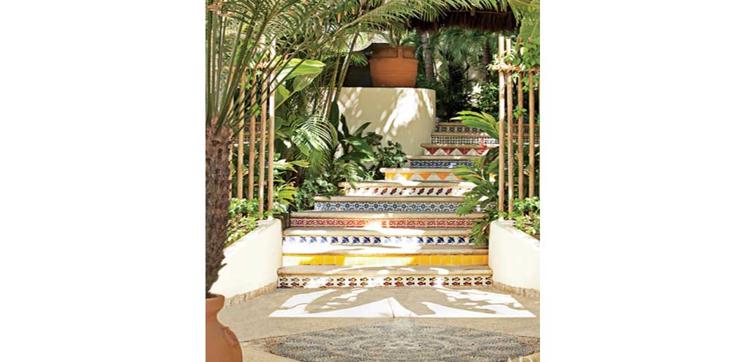 A to Z Outdoor Design Guide: Mosaics