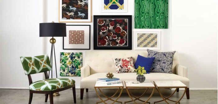Trend Talk: Texture in upholstery, drapes and cushions