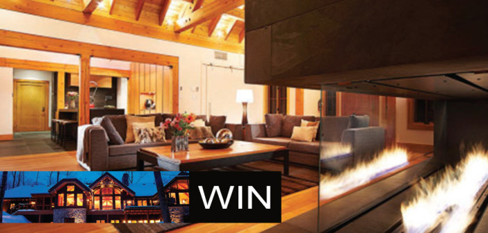 Win an Overnight Getaway for 6 guests at Tremblant Living Luxury Chalet from MovatoHOME