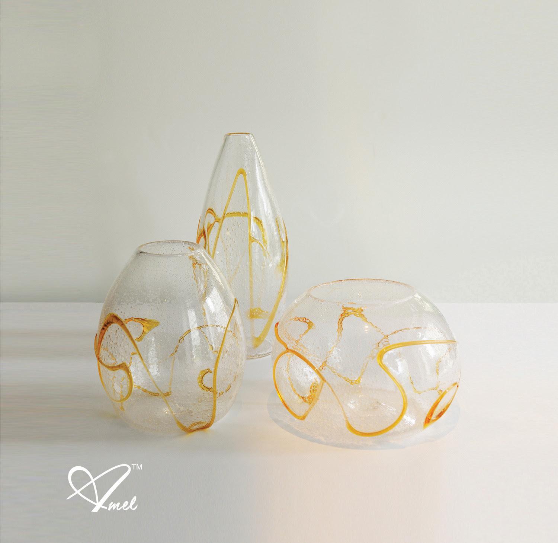 Amel Chamandy™, Krystal Vase Collection – NuEdge Design